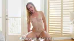 Passion-HD - Pool boy fucks sexy redhead Cynthia Thomas