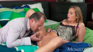 MOM Mature housewife with big natural tits gets creampie from neighbour  big natural tits big tits creampie erotic momxxx russian mom blonde missionary sensual milf mother pussy eating natural tits hot mom cum inside female friendly