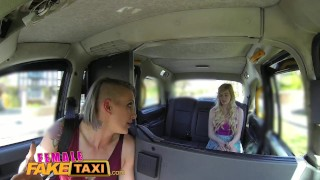 FemaleFakeTaxi Lesbian encounter for posh student  taxi british kissing hd euro sexy amateur blonde hardcore lesbian reality tattoos orgasm femalefaketaxi cab