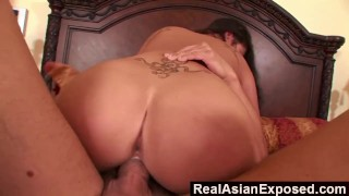 RealAsianExposed - Making London Keyes Big Tits Bounce  london keyes big ass cum on tits big tits riding babe asian blowjob cumshot hardcore doggystyle big boobs natural tits realasianexposed