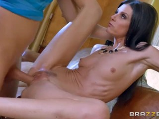 India Summer teaches some young cock - Brazzers