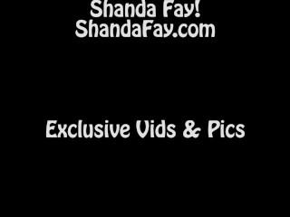 Shanda Fay Fucks Dildo on Top of Glass Table!