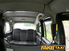 FakeTaxi Cute escort rides cock for cash