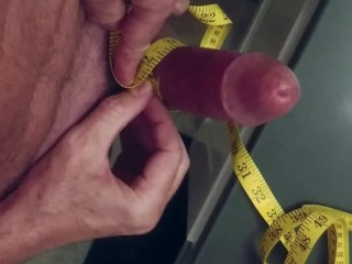 Girth After Pumping My Penis