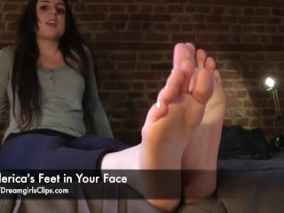 Frederica's Feet in Your Face - www.clips4sale.com/8983/15756808