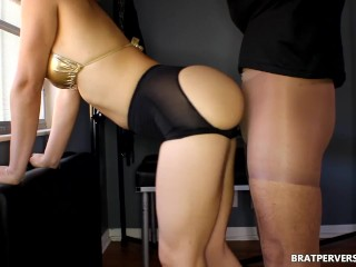 Big Ass Grinding Pantyhose