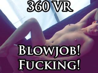 360 VR Blowjob & Fucking