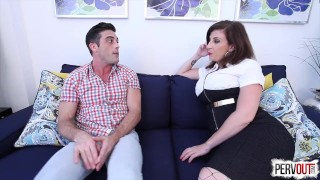 Future Son-in-Law Test with Sara Jay (FEMDOM, PEGGING, CHASTITY, CREAMPIE)