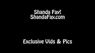 Hot Milf Shanda Fay Teases Him with Strapon for Pegging!  tits pegging rimjob strapon femdom canadian mom milf shandafay kink mother strapon pegging busty milf