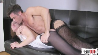 Anya Olsen Gets Hers with Lance Hart (CreamPie Eating, Switch Dom)  pussy eating orgasm choking creampie small tits fishnets anya olsen pantyhose leotard sweetfemdom sensual femdom kinky sex pussy licking orgasm switch creampie eating cross dressing lance hart post orgasm torture