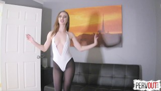 Anya Olsen Gets Hers with Lance Hart (CreamPie Eating, Switch Dom)  pussy eating orgasm choking sensual femdom creampie small tits fishnets anya olsen pantyhose leotard sweetfemdom kinky sex pussy licking orgasm switch creampie eating cross dressing lance hart post orgasm torture
