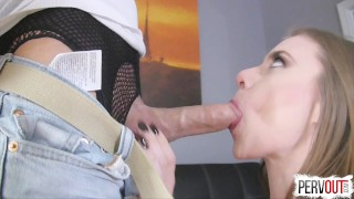 Anya Olsen Gets Hers with Lance Hart (CreamPie Eating, Switch Dom)  pussy eating orgasm post orgasm torture lance hart pussy licking orgasm kinky sex cross dressing choking sensual femdom creampie small tits fishnets pantyhose sweetfemdom leotard switch creampie eating anya olsen