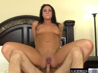 Teen Kylie Kalvetti gets her ass rubbed cumshot