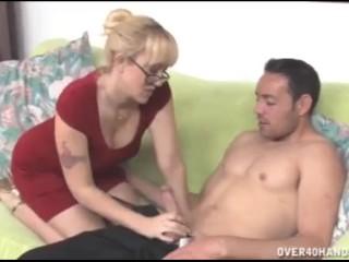 Blonde milf wants this prick