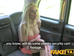 FakeTaxi Hot blonde fucks new cabbie