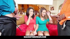 Daughter Swap- Daughters Learn Sex From Dads Best Friend