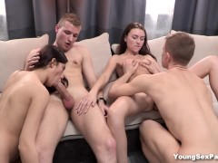 Young Sex Parties - Chicks get the sex party going