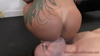 Ryan Conner Femdom and Ass Worship  kink butt ass worship big booty fake tits big tits facesitting femdom