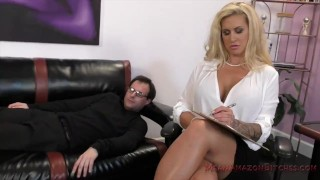 Ryan Conner Femdom and Ass Worship  kink butt big booty ass worship fake tits big tits facesitting femdom