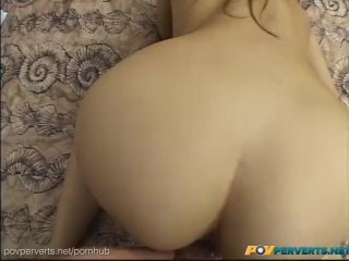 POVPerverts - Asian Beauty, Katsuni, Stretches Her Asshole Around Big Cock