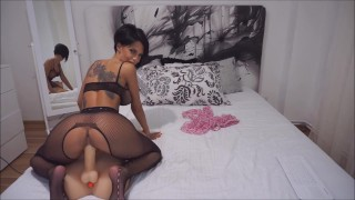 Anisyia Livejasmin Stockings Bodysuit extreme highheels riding huge cock