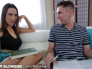 OnlyTeenBlowjobs Slutty Big Tit Teen Is Bad Influence