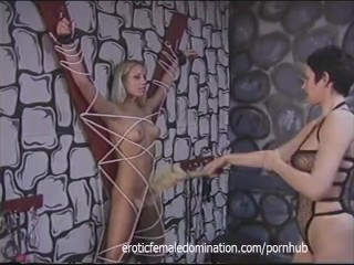 Perfect blonde girl experiences humiliation and pain like never before