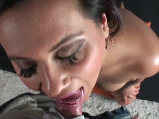 Horny Student Selma Sin looking for cash gives an amazing blow job for it
