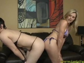 Cory Chase And Her Friend Farting