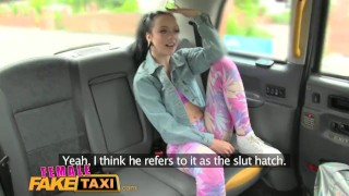 FemaleFakeTaxi Sexy lesbian strap on fuck in cab  strap on taxi british kissing hd euro sexy amateur small tits toys hardcore cab lesbian reality orgasm tattoos femalefaketaxi pussy licking natural tits girl on girl