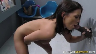Adriana Chechik BBC Anal - Gloryhole  ass fuck blowjob gloryhole pornstar hardcore kink interracial dogfartnetwork brunette gagging deepthroat anal glory hole big black cock atm hairy