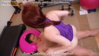 Cuckolding You with My new Stud -Lady Fyre  olivia fyre red hair pussy cuckold redhead femdom mom kink butt mother cuckolded cuck lady fyre bush cuckolding