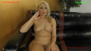 Anikka Albrite POV Cuckold Blowjob  kink blonde femdom-cuckold
