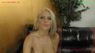 Anikka Albrite POV Cuckold Blowjob  kink femdom cuckold blonde