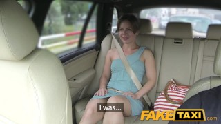 FakeTaxi Passenger rides her biggest thick cock  car sex short hair point of view big cock babe innocent blowjob amateur pov camera faketaxi spycam reality czech dogging prague