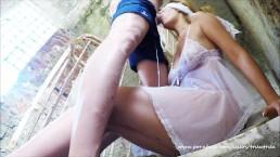 Abuza de ea intr-o cladire parasita ii da muie din picioare