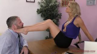 Jessa Rhodes Femdom Office  kink ass worship foot worship femdom ass licking