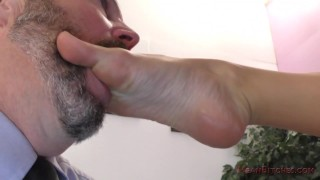 Jessa Rhodes Femdom Office ass worship femdom ass licking kink foot worship