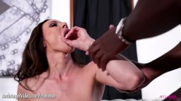 Kendra Lust taking a monster black cock at ArchAngel