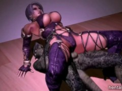 Soul Calibre Ivy gets fucked in different ways