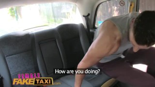 FemaleFakeTaxi Sexy male stripper cums in filthy cab drivers mouth  taxi british uk amateur blowjob cumshot pov hardcore reality outdoor-sex femalefaketaxi cum-in-mouth real sex