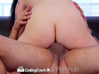 CastingCouch-X - Edgy tattooed Rachael Madori fucks on camera