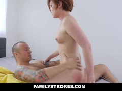 FamilyStrokes - Step-Siblings Fuck While Parents Are Away