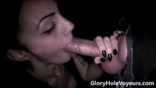 Brunette Gloryhole Blowjob  gloryholevoyeurs samantha jaymes gloryhole secrets gloryhole swallow gloryhole swallows deep throat gloryhole voyeurs big cock cumshot gloryhole
