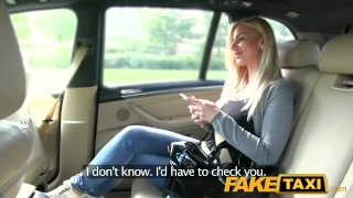 FakeTaxi Big tits and great curvy body sucks dick big-cock faketaxi dogging point-of-view taxi blowjob amateur prague blonde big-boobs spycam public pov reality camera czech