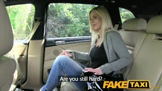 FakeTaxi Big tits and great curvy body sucks dick  point of view big cock taxi blowjob amateur prague blonde public pov camera faketaxi spycam reality czech dogging big boobs