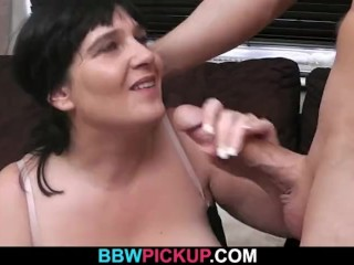 Oral exchange before doggystyle bbw