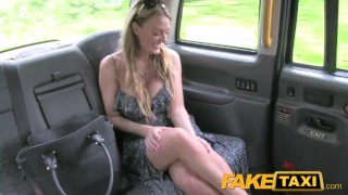 FakeTaxi Welsh MILF goes balls deep on new cabbie  point of view taxi british amateur blonde blowjob public pov camera faketaxi welsh spycam car reality dogging tattoos fake tits huge tits