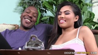 Petite asian Cindy Starfall meets Mandingo's BBC  big black cock face fucking big cock bbc asian blowjob pornstar small tits big dick hardcore dogfart interracial dogfartnetwork brunette doggy deepthroat
