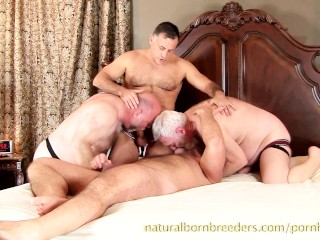 Raw Furry 4-Way Giovanni Rossi, Bishop Sterling, Tate Manning & Vino Stone